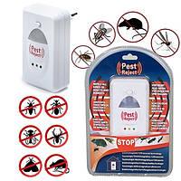 Универсальный отпугиватель pest reject (от грызунов, тараканов, пауков, комаров)