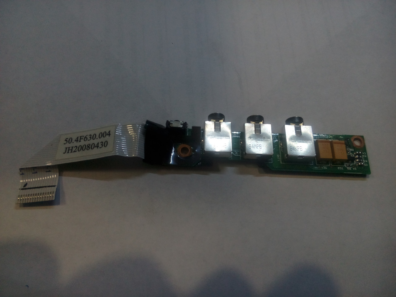 Плата аудиоразъема HP DV2000 DV2500 DV2700 со шлейфом