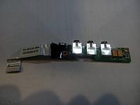 Плата аудиоразъема HP DV2000 DV2500 DV2700 со шлейфом, фото 1