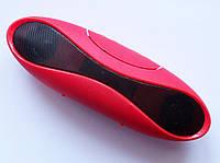 Портативная колонка Mini Wireless Speaker + bluetooth (xc6), red