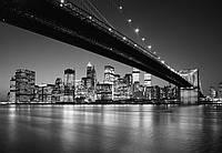 Ночной город, Бруклинский мост Нью-Йорк №140
