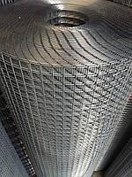 Зварна оцинкована сітка для кліток. Осередок: 12,5х12,5мм., Ø 1,4 мм, Ширина: 1м.