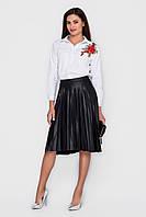 Плиссированная юбка, черная L