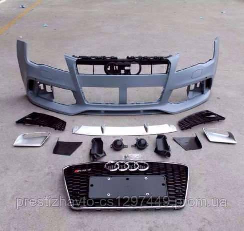 Передний бампер Audi А7 RS7