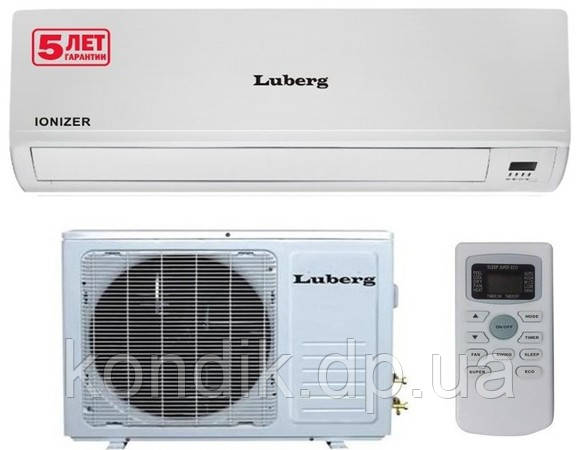 Кондиционер Luberg LSR-09HDI ion