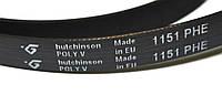 РЕМЕНЬ  ДЛЯ СТИРАЛЬНОЙ МАШИНЫ 1151 H7 EL «Hutchinson» черный
