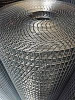 Сварная оцинкованная сетка для клеток. Ячейка: 25х12,5мм., Проволока: 1,8мм, Ширина: 1м.
