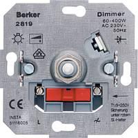 Поворотно-нажимний диммер для ЛН та ВВГЛ 60-600 Вт  (286010)