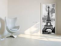 Фотообои на дверь: город Париж, Эйфелева башня №524