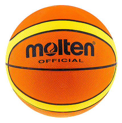 Мяч баскетбольный резиновый размер7 Molten GT-7 , фото 2