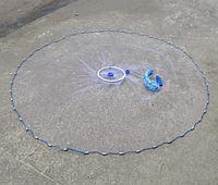 Кастинговая сеть (парашют) для промышленного лова