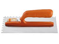 Гладилка Kapriol зубчатая, с ручкой из нейлона