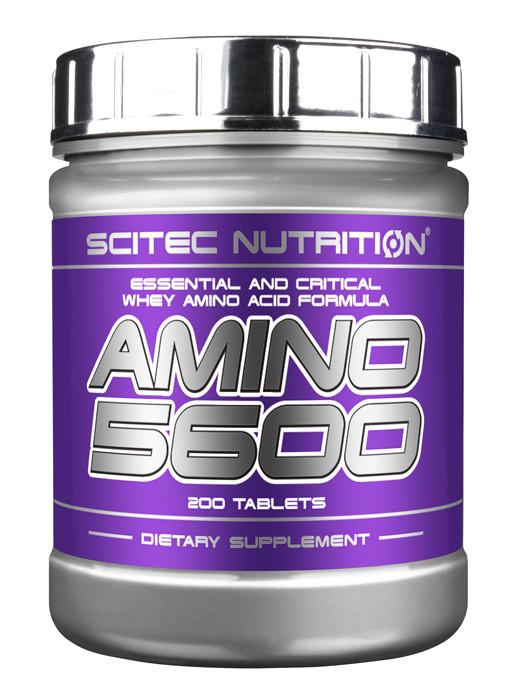 Scitec Nutrition Amino 5600, 200 таб.