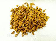 Декоративный цветной щебень (крошка, гравий) , коричневый (10211) Желтый