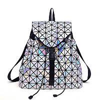 Стильный женский рюкзак Вао Вао лазер  Issey Miyake