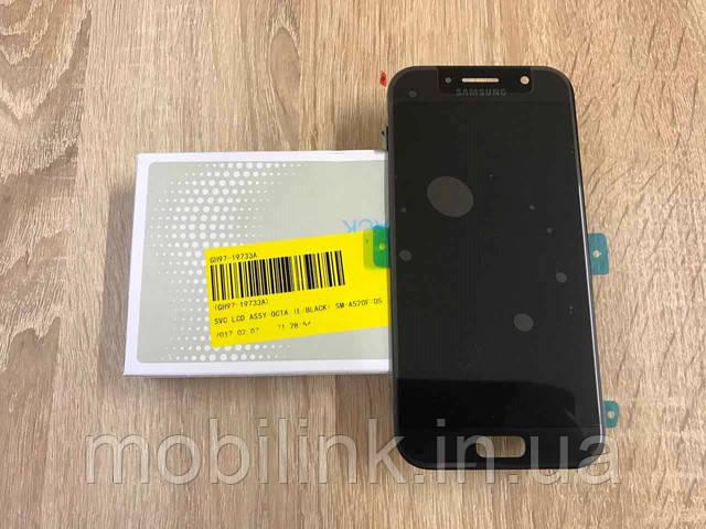 Появилась новая позиция дисплей Samsung A520F/DS Black GH97-19733A оригинал!!!