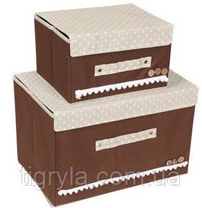Короб органайзеры для белья c крышкой