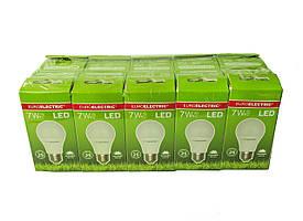 LED Лампа Euroelectric A60 7W E27 4000K