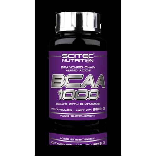 Scitec Nutrition BCAA 1000, 100 капс.