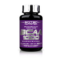 Scitec Nutrition BCAA 1000, 100 капс.