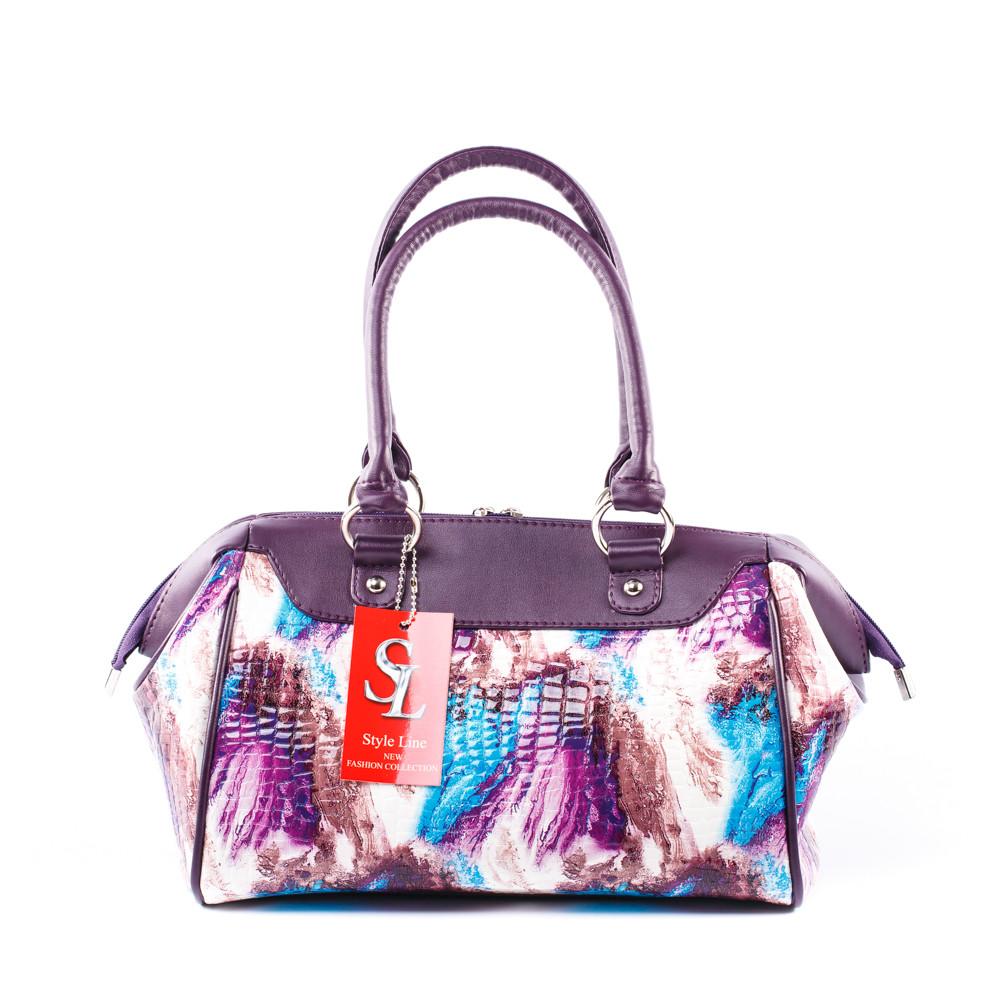 1fdbf06b2e60 Саквояж женский на руку фиолетовый лаковый: продажа, цена в Днепре ...