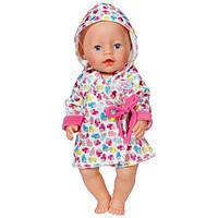Халат с капюшоном для куклы Zapf Creation 822463