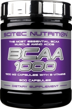 Scitec Nutrition BCAA 1000, 300 капс.