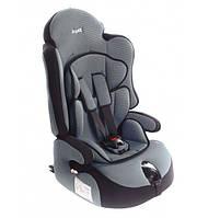 """Детское автомобильное кресло Siger """"ПРАЙМ Изофикс"""" груп.1-2-3 (серый)"""