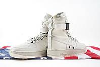 Кроссовки женские Nike Air Force SF1 white. кроссовки найк аир форс, интернет магазин