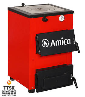 Амика Оптима( Amica Optima) котел с варочной плитой мощностью 18 кВт