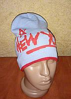Стильная удлиненная шапка для мальчиков (Польша)
