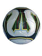 Мяч футбольный белый клубный №5