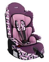 """Детское автомобильное кресло Siger ART """"Прайм ISOFIX"""" абстракция, 1-12 лет, 9-36 кг, группа 1/2/3"""