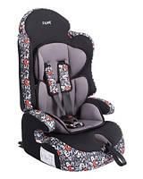 """Детское автомобильное кресло Siger ART """"Прайм ISOFIX"""" алфавит, 1-12 лет, 9-36 кг, группа 1/2/3"""
