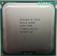 Intel Xeon E5420 (SLANV, 12M Cache, 2.50 GHz, 1333 MHz FSB) +перехідник