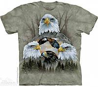 Футболка The Mountain FIVE EAGLE COLLAGE