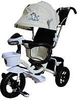 Велосипед детский Mini Trike 960-2 с фарой белый