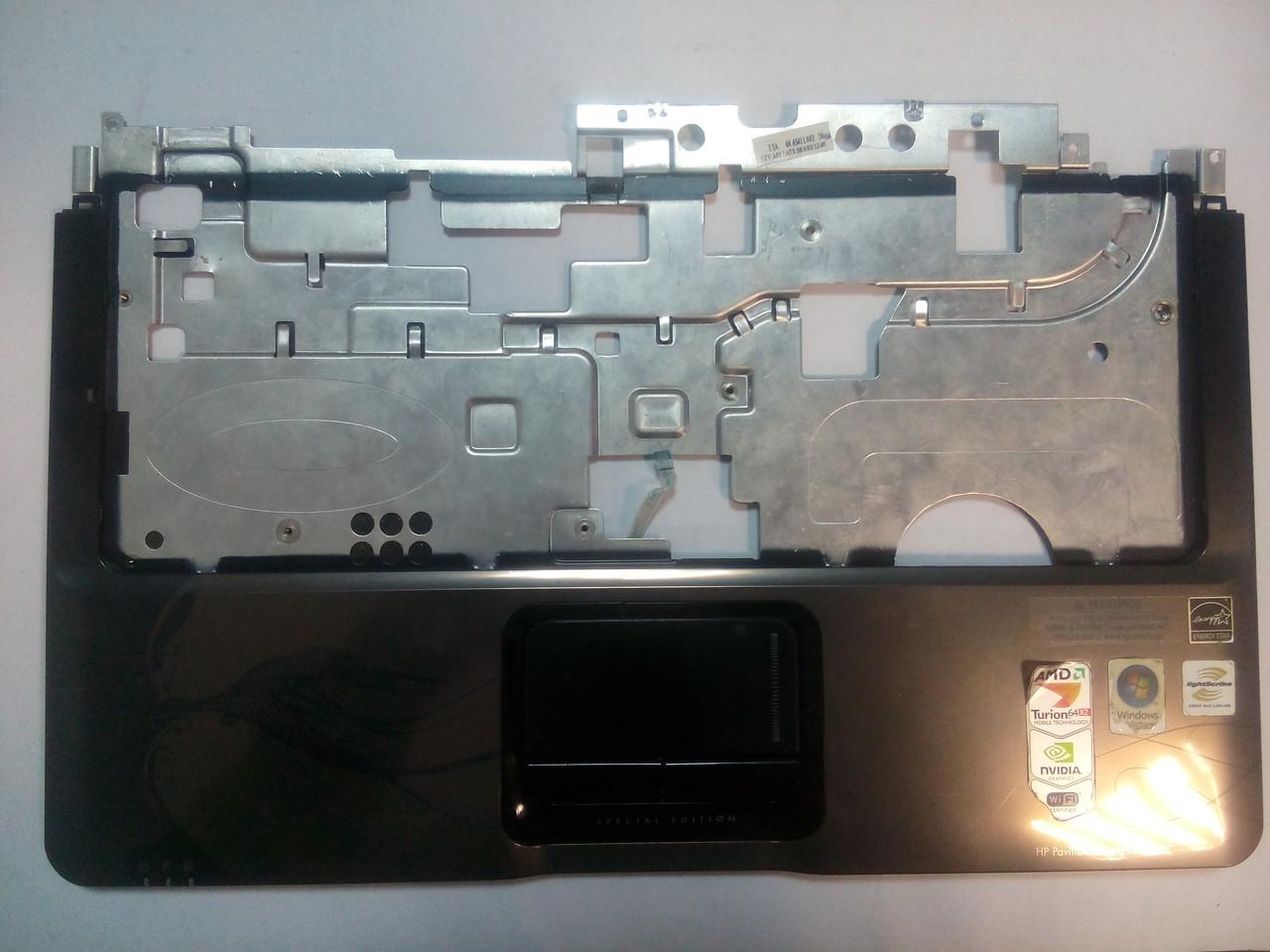 Верхняя рамка клавиатуры (палмрест) HP DV2000 series 466612-001
