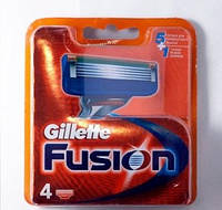 Лезвия Gillette Fusion, Fusion Power упаковка 4 шт