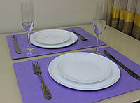 Подставка Фетр Lux Violet на стол 45*30 см