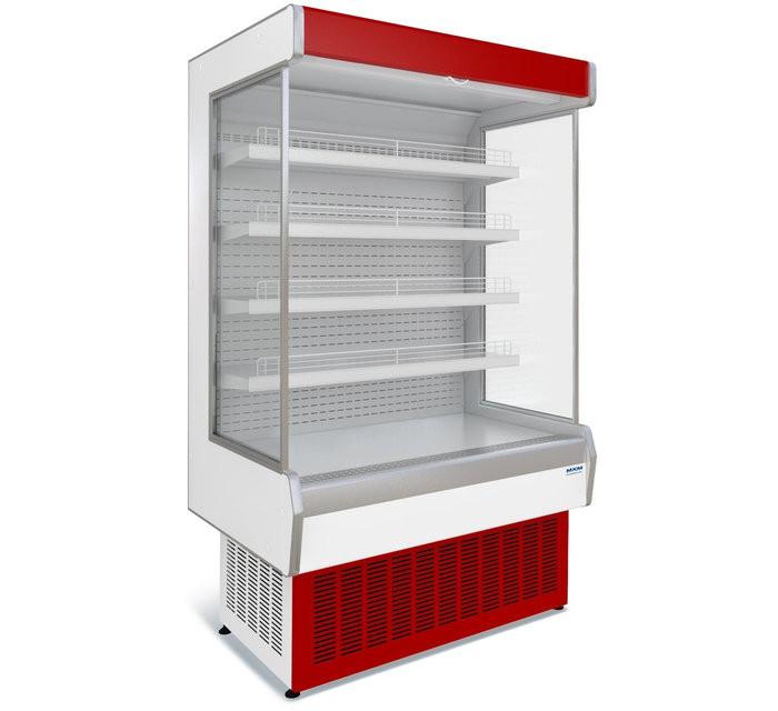Витрина холодильная среднетемпературная  пристенная Ряд витрин Купец 7,5П