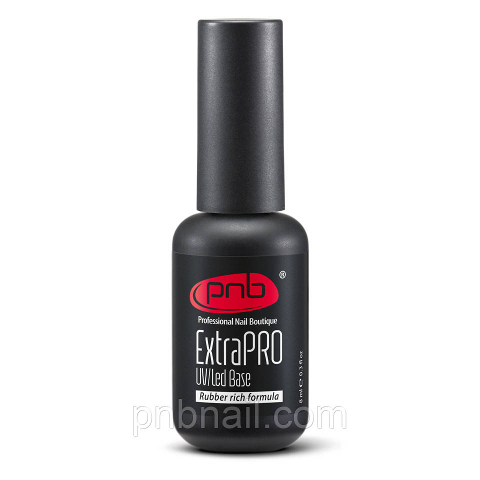 UV/LED ExtraPRO Base Rubber rich formula – базовое покрытие  , 8 мл