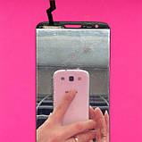 Дисплейний модуль LG G2 D802, LG G2 D805, чорний, з тачскріном, 20 pin, фото 2