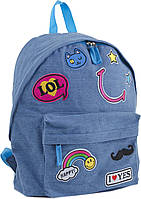 553921 Рюкзак підлітковий ST-15 Jeans LOL, 30*36*12