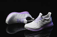 Кроссовки женские Adidas Ultra Boost FutureCraft 3D Grey Purple. магазин интернет, адидас ультра буст