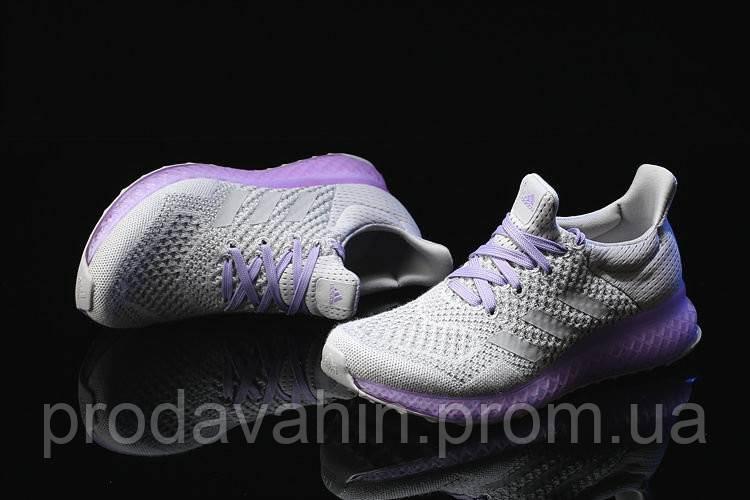 732fca07 Кроссовки женские Adidas Ultra Boost FutureCraft 3D Grey Purple. магазин  интернет, адидас ультра буст