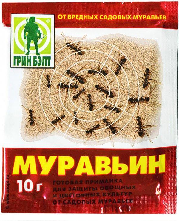 Средство от муравьев Муравьин 10г