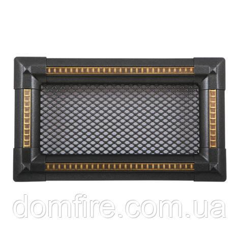 Вентиляционная решетка для камина Parkanex, Exclusive - графит/медная патина - Domfire - тепло в Вашем доме в Ужгороде