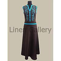 АКЦІЯ!!! Сукня Урсула коричнева