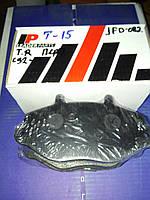 Колодки  передние Форд  Транзит  91 --  Т 15    LEADERPARTS  JFD-082